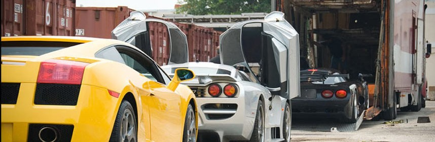 Shipping a Luxury Car in Canada